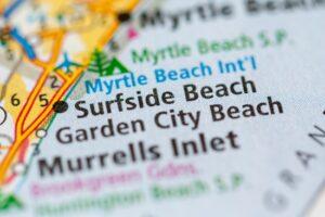 Surfside Beach. South Carolina. USA